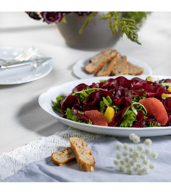 Lapu salāti ar krāsainajām bietēm